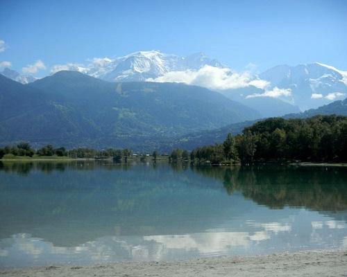 2 Lac De Passy Acces depuis le camping